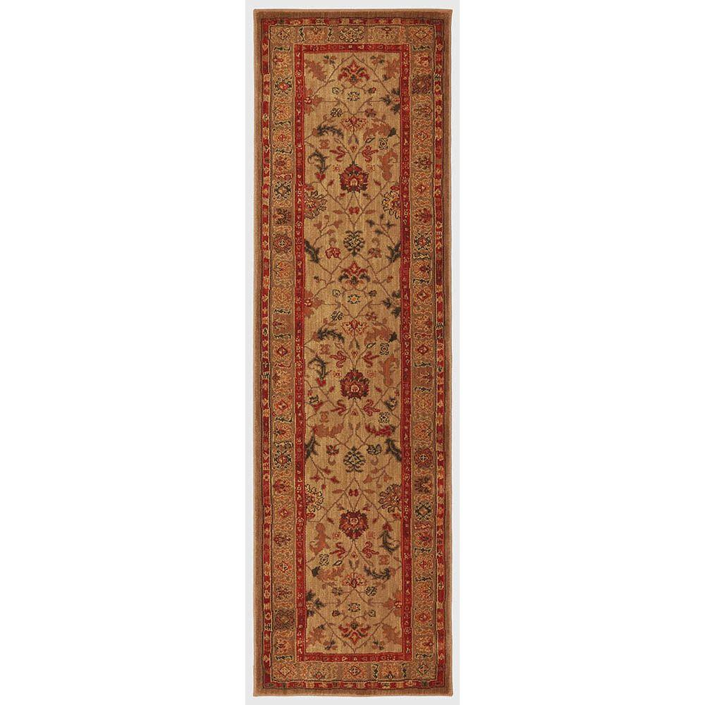 Karastan Southwood Bone 2 ft. 11 in. x 4 ft. 8 in. Accent Rug