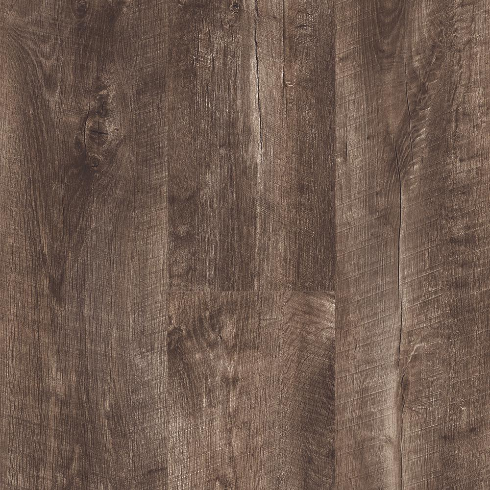 Home Decorators Collection Take Home Sample Stony Oak Smoke Click Vinyl Plank 4 In X 4 In