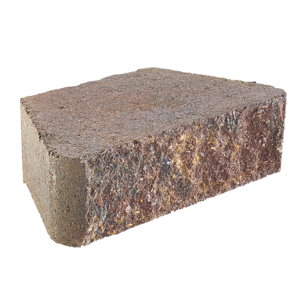 3 in. x 10 in. x 6 in. Sierra Blend Concrete Retaining Wall Block