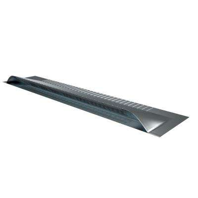 47 in. x 3 in. x 9.5 in. Aluminum Off Ridge Roof Vent in Mill Finish