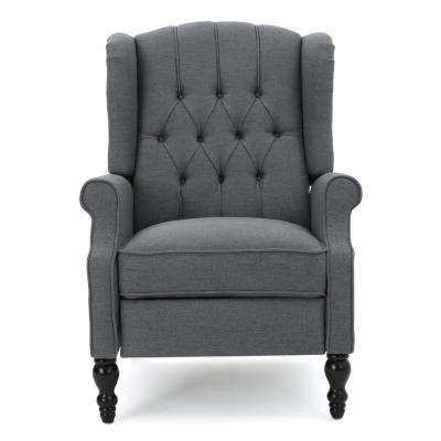 28f2a0a5c459 Recliner - Noble House - Gray - Furniture - The Home Depot