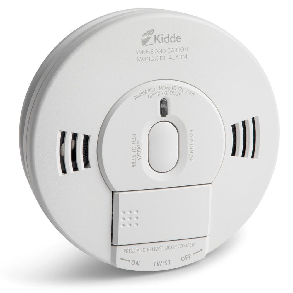 2 pack Kidde 9v smoke alarm with hush button and 5 year warranty
