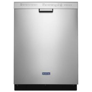 Maytag Front Control Built-In Tall Tub Dishwasher in Fingerprint Resistant Stainless Steel, 50 dBA-MDB4949SHZ - The Home Depot