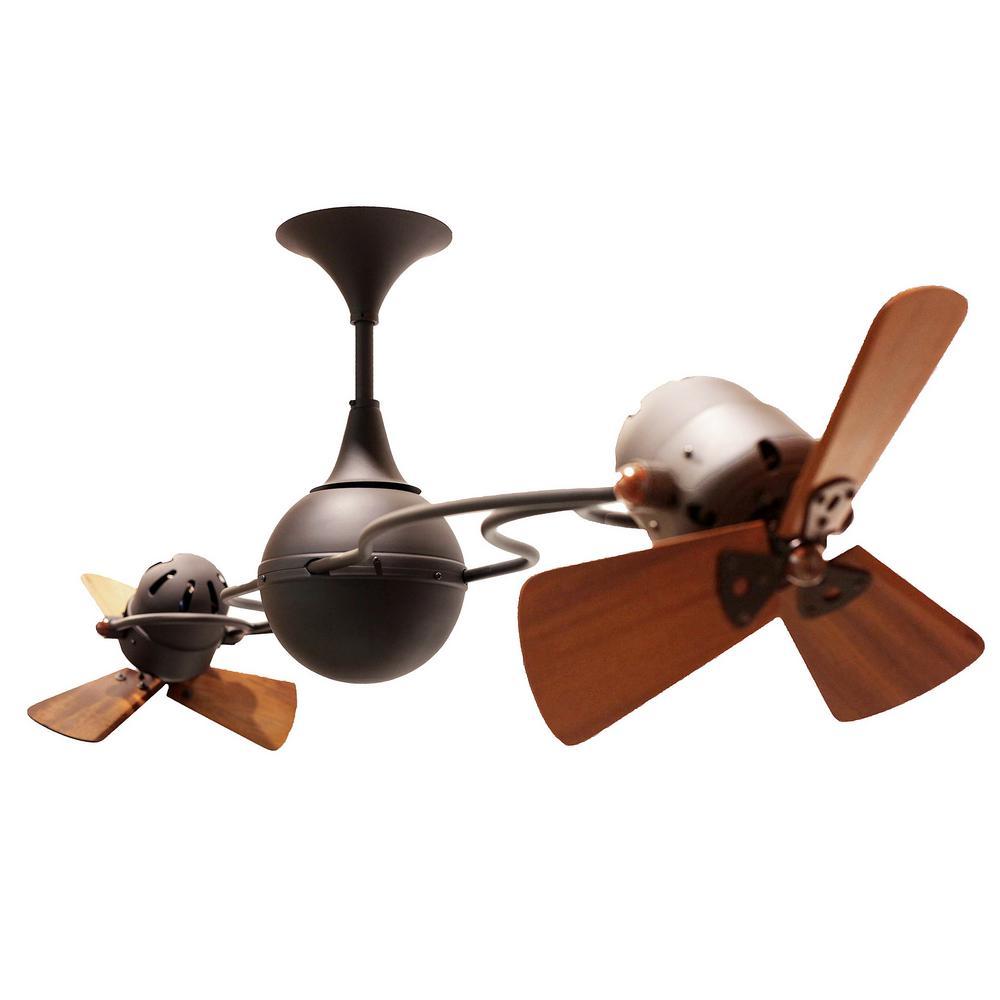 Rylie 62 in. 6-Blade Bronze Ceiling Fan