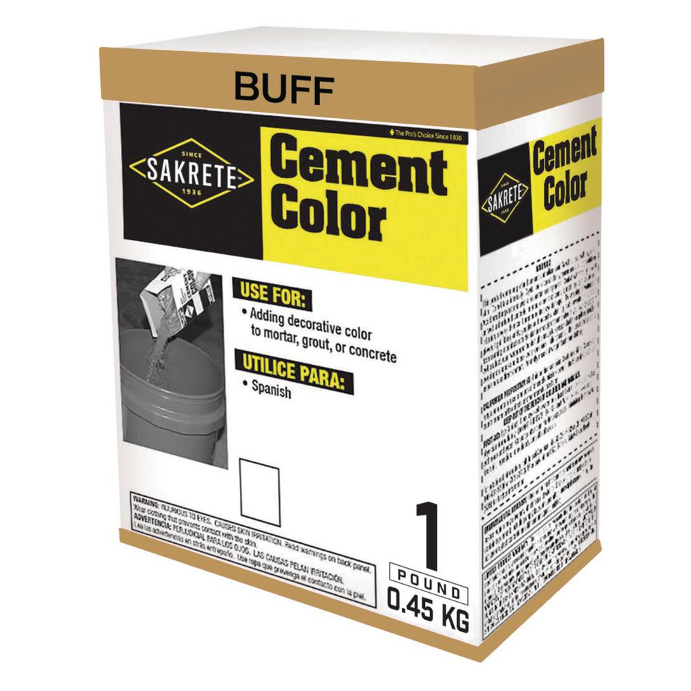 SAKRETE 1 lb. Cement Color Tan Buff