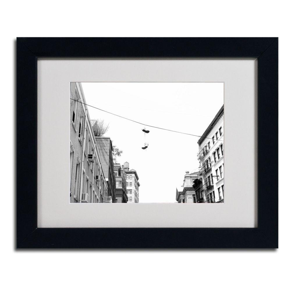 Trademark Fine Art 11 in. x 14 in. Lil Italy Matted Framed Art
