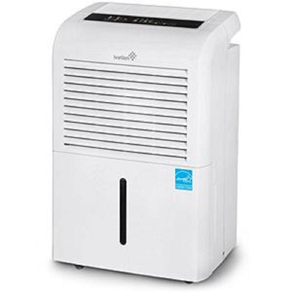 Ivation 70-Pint ENERGY STAR Dehumidifier with Continuous Pump, Large Capacity