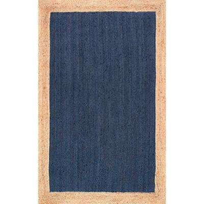 Eleonora Blue 6 ft. x 9 ft. Area Rug