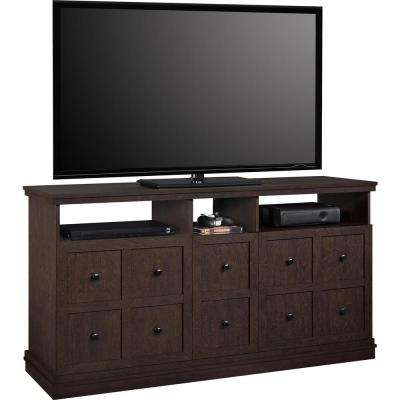 Cooper Apothecary Espresso Entertainment Center