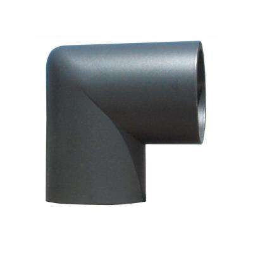 1.9 in. Aluminum Round ADA Handrail Bronze 90 Degree Miter Elbow