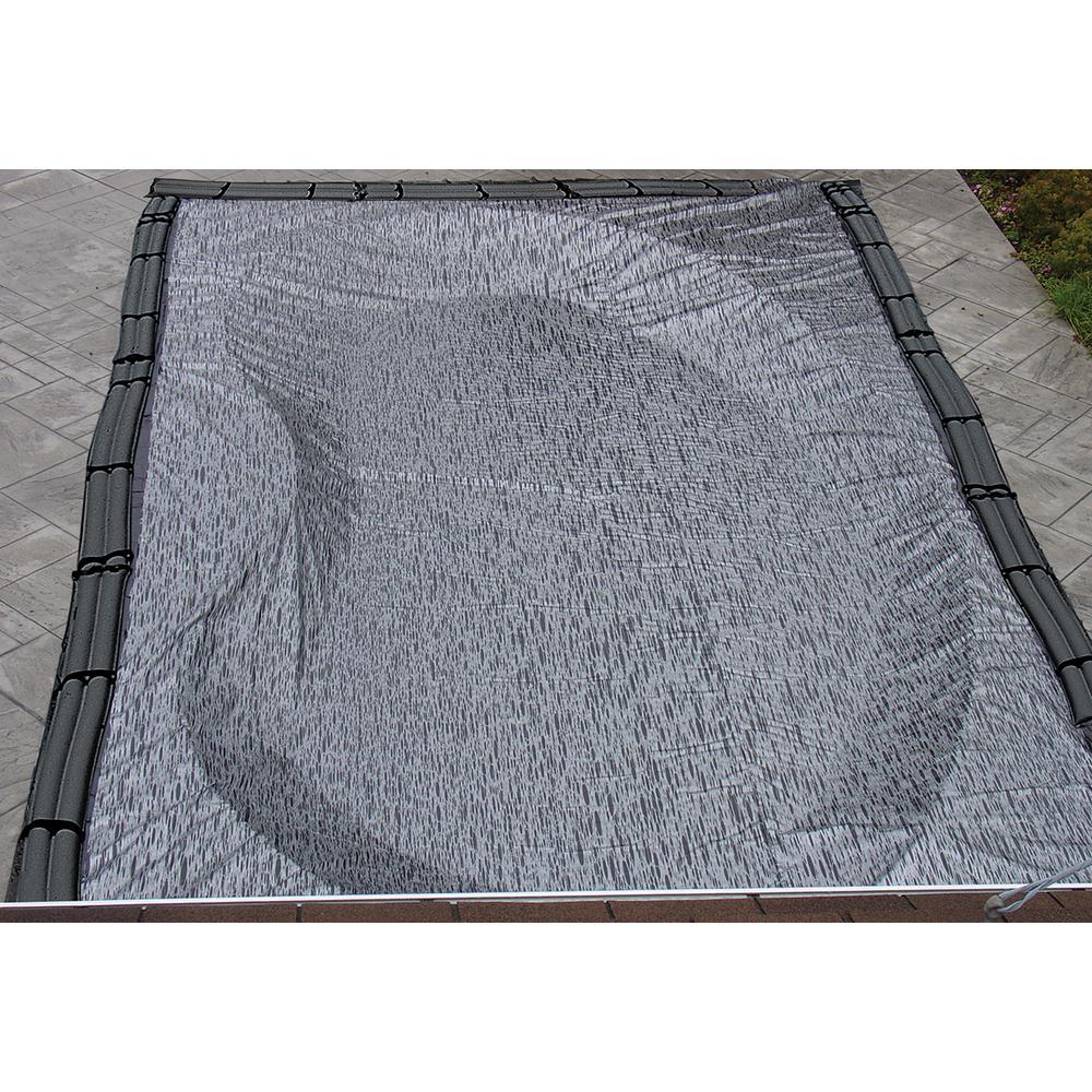 25 ft. x 45 ft. Rectangular Black/Silver In-Ground Enviro Winter Pool Cover
