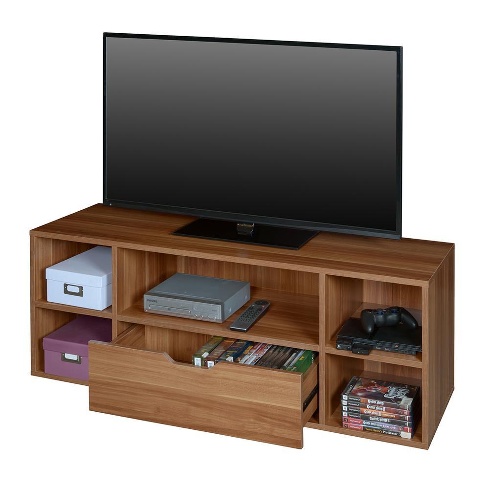 Mod Warm Cherry TV Stand