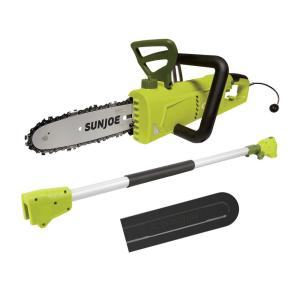 2-in-1 8 in. 6 Amp Electric Convertible Pole Chain Saw