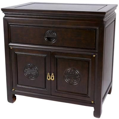Bedside Brown End Table