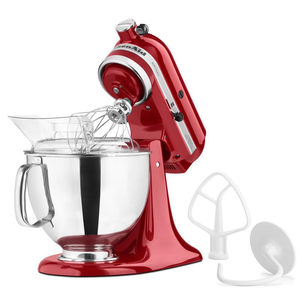 kitchenaid mixer red. +3. kitchenaid artisan 5 qt. empire red stand mixer kitchenaid