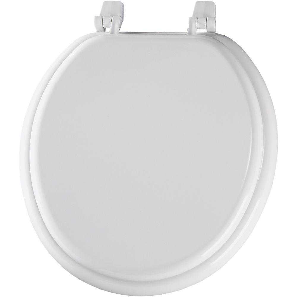 Church Round Closed Front Toilet Seat In White 400ttc 000