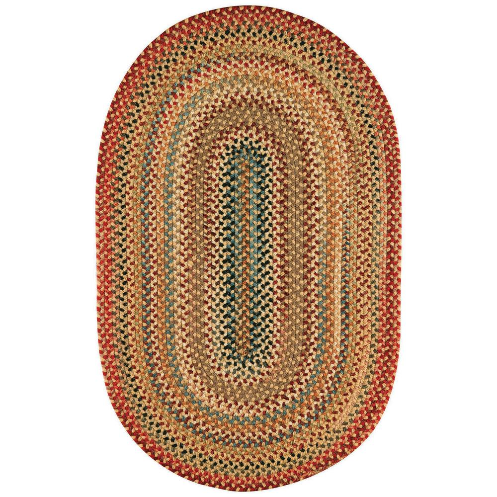 Capel portland gold 3 ft x 5 ft oval area rug for Accent rug vs area rug