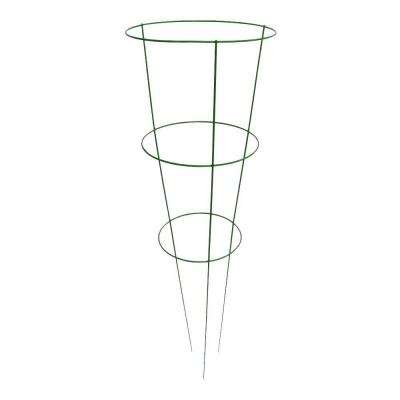 14 in. x 42 in. Light Green Tomato Plant Support (5 Pack)
