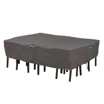 Ravenna Medium Rectangular/Oval Patio Table and Chair Set Cover