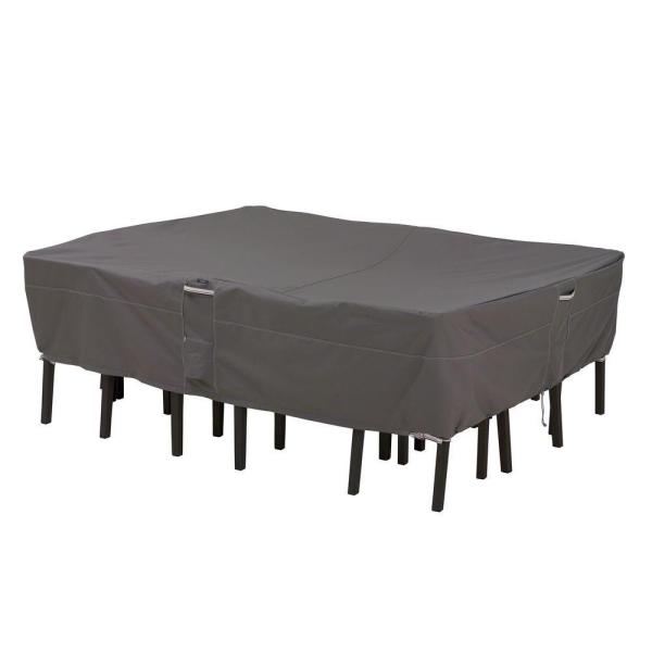 Large Rectangular Oval Patio Table