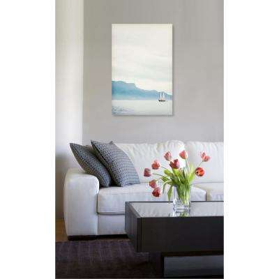 30 in. x 45 in. 'In The Horizon' by Oliver Gal Printed Framed Canvas Wall Art