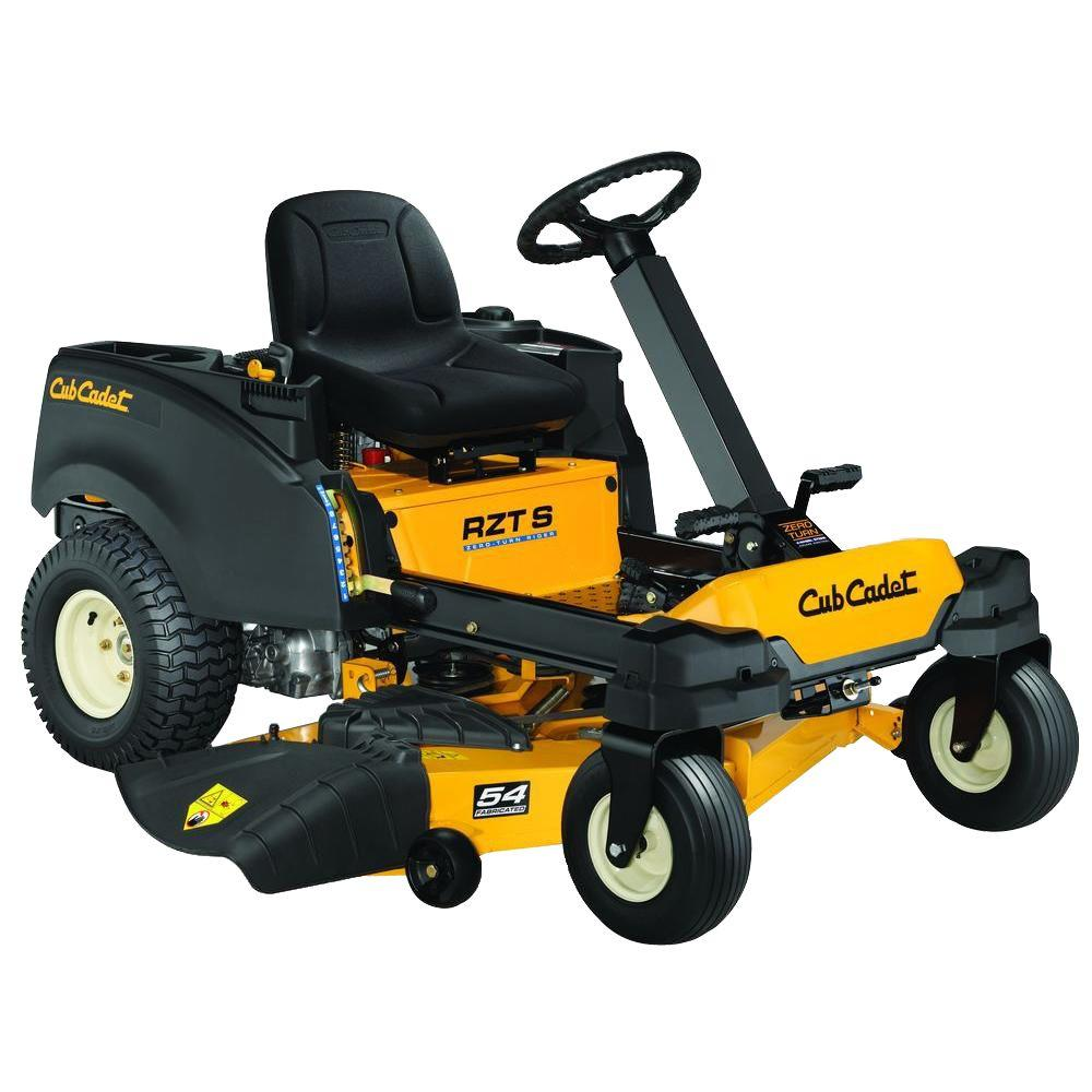 Cub Cadet RZT-S 54 in. Fabricated Deck 25 HP V-Twin Dual-Hydrostatic Zero-Turn Riding Mower with Cub Connect Bluetooth