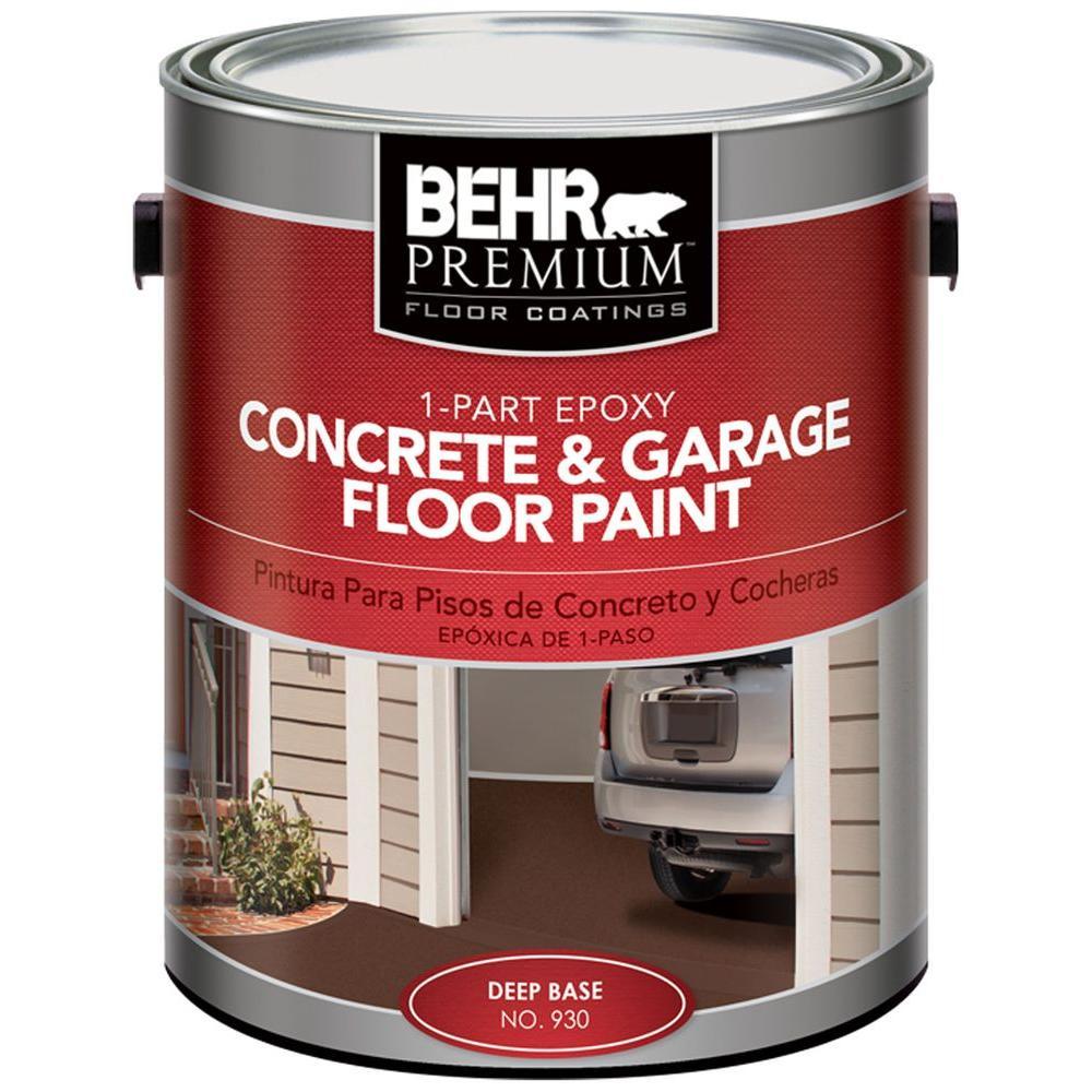 Behr Premium 1 Gal 902 Slate Gray 1 Part Epoxy Concrete