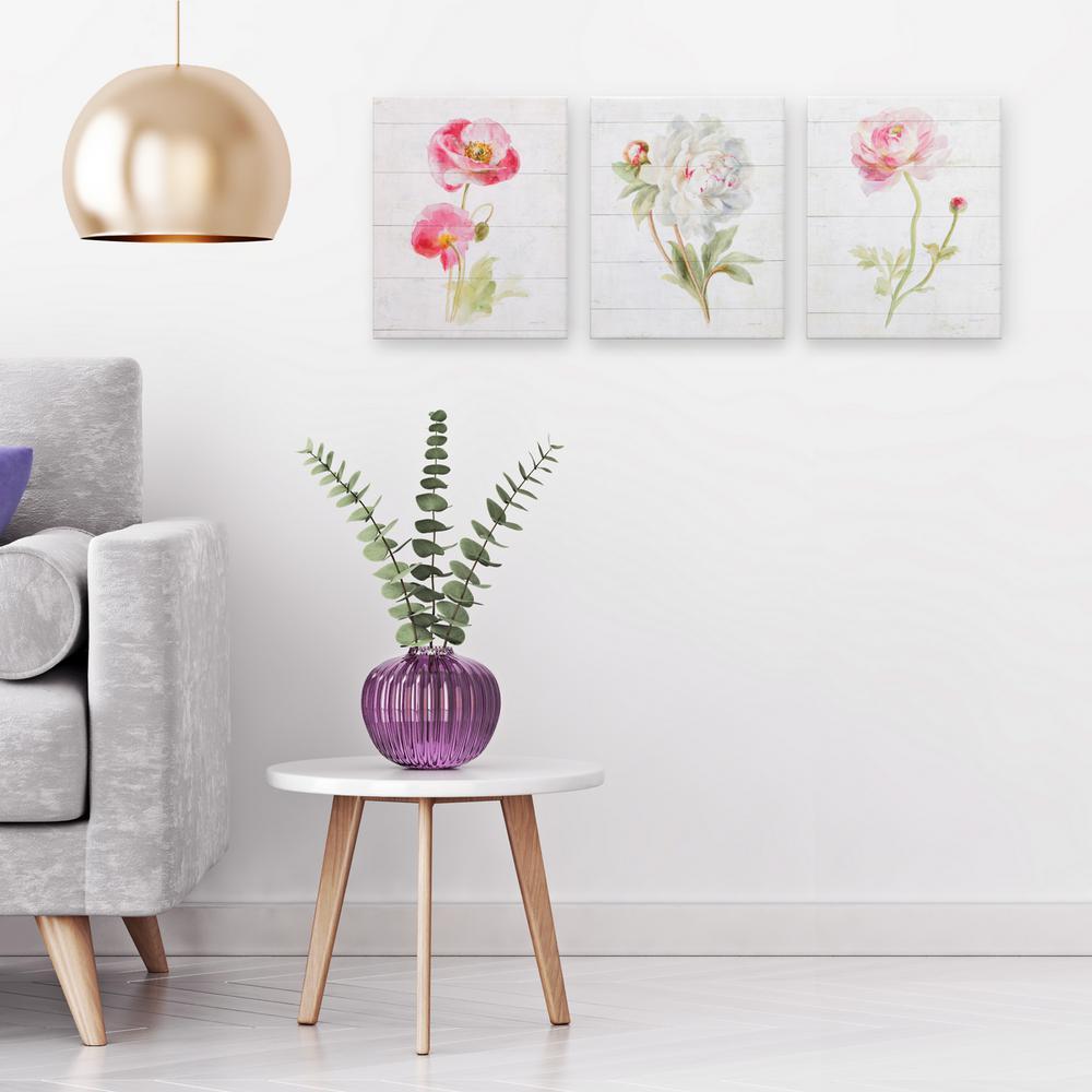 Pinnacle Pink June Blooms Canvas Wall Art