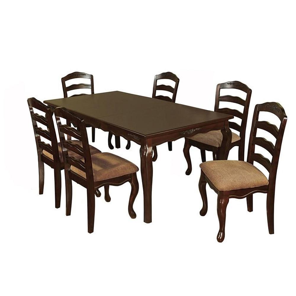 Townsville in Dark Walnut Table Set