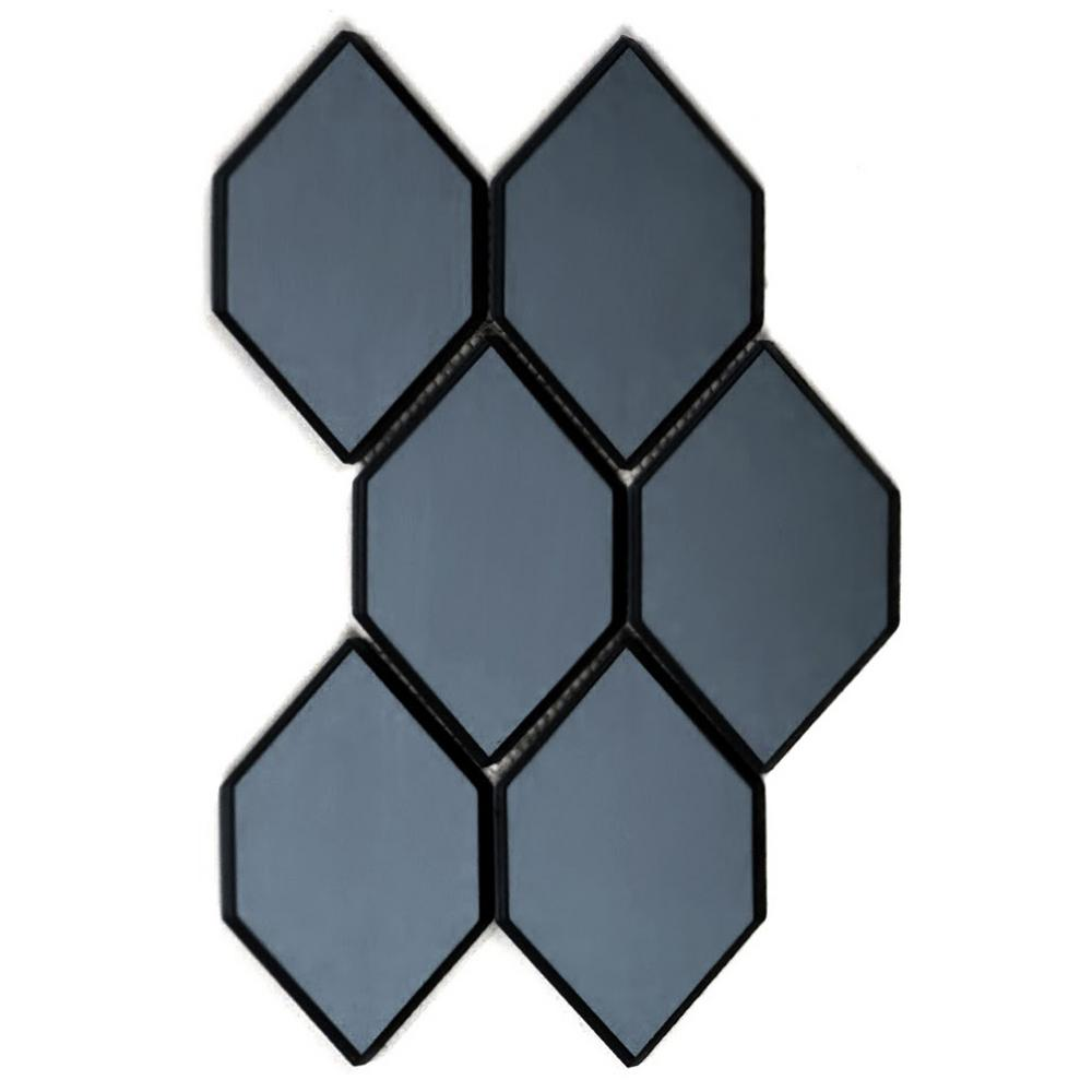 Abolos Echo Water Jet Blue Gray Graphite Honeycomb 9 In X 12 In X