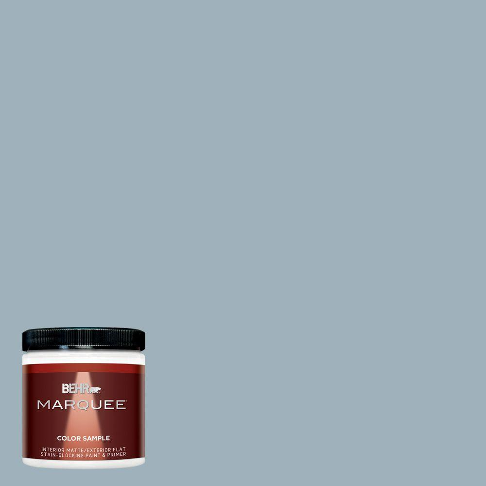 Behr Marquee 8 Oz Mq5 59 Ovation Matte Interior Exterior Paint And Primer Sample Mq30016 The
