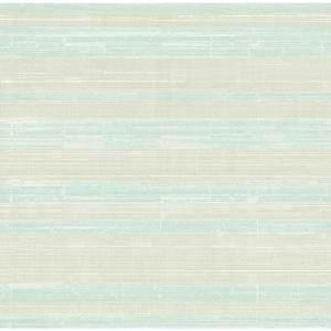 Shimmer Light Grey and Blue Ice Stria Strippable Wallpaper