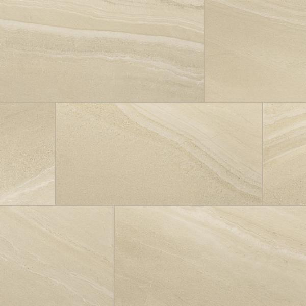 Seville Beige Matte 12 in. x 24 in. Rectified Porcelain Floor and Wall Tile (425.6 sq. ft./Pallet)