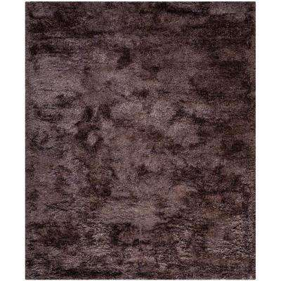 South Beach Shag Lavender 8 ft. x 10 ft. Area Rug