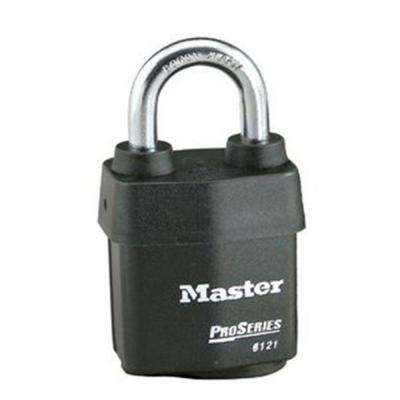 Pro Series 2-1/8 in. Weather-Tough Laminated Steel Padlock with 1-1/8 in. Shackle