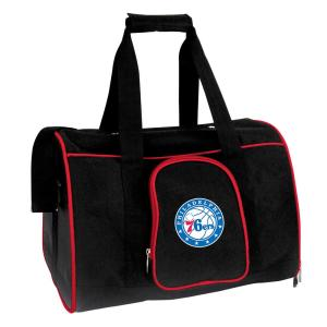 NBA Philadelphia 76ers Pet Carrier Premium 16 in. Bag in Red
