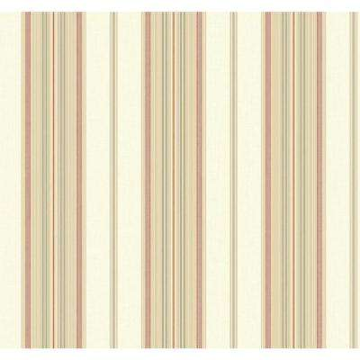 Williamsburg II Amelia Stripe Wallpaper