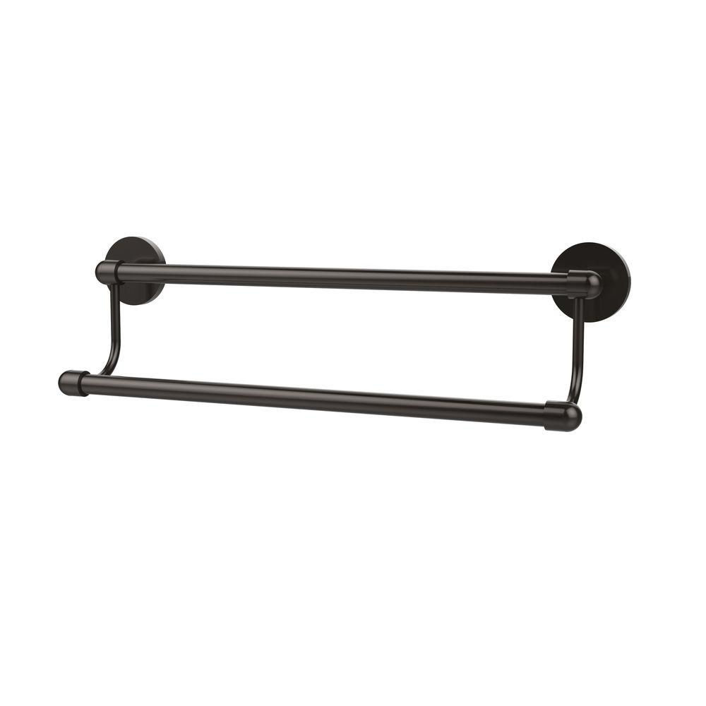Allied Brass Tango Collection 18 in. Double Towel Bar in Oil Rubbed ...