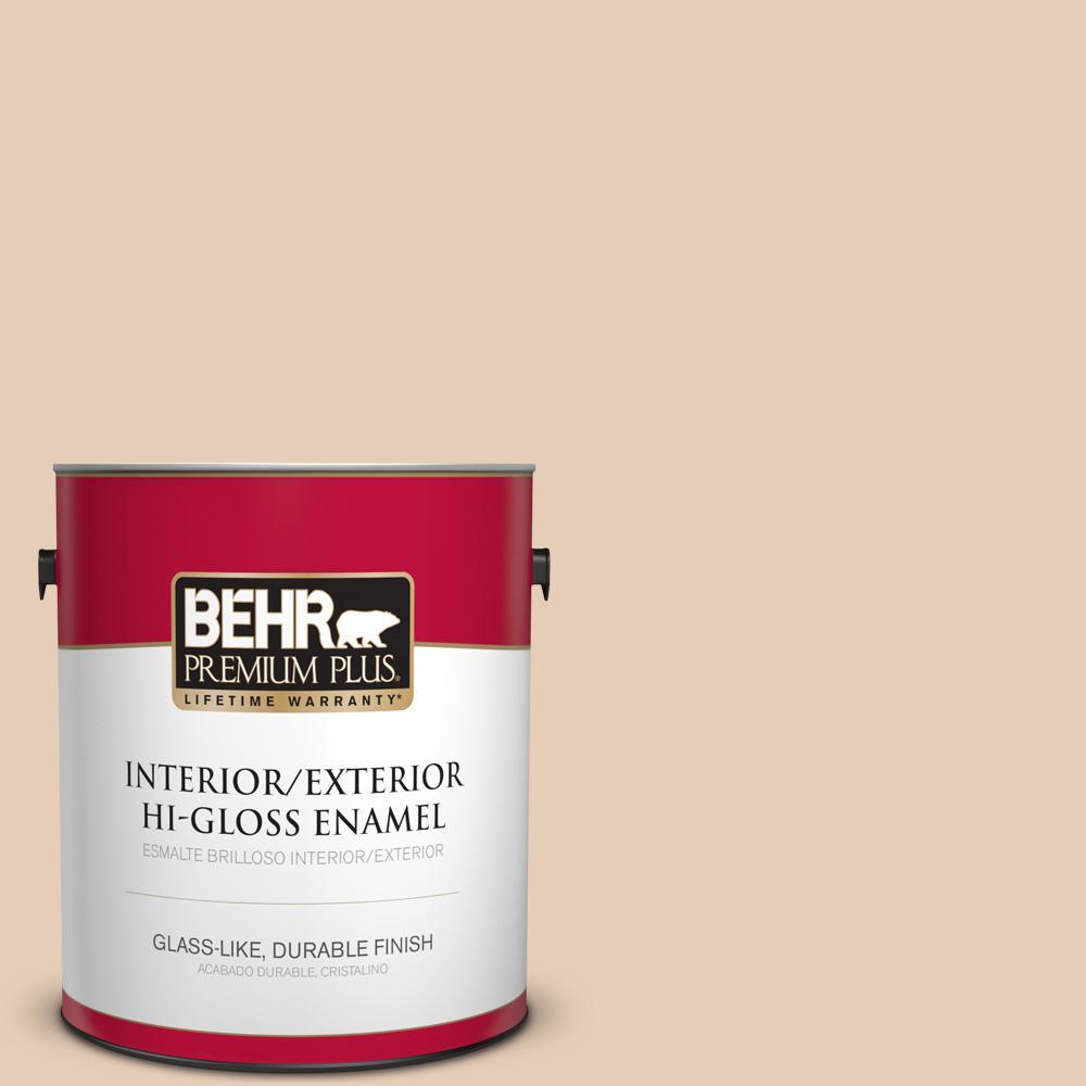 1 gal. #PPU3-06 Venetian Mask Hi-Gloss Enamel Interior/Exterior Paint