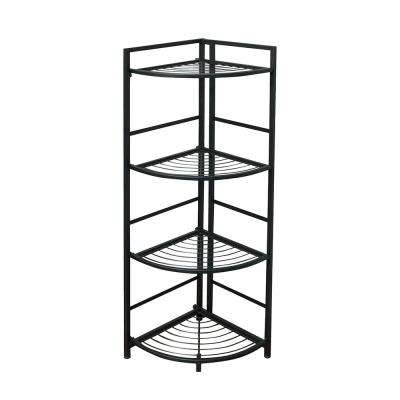 4-Shelf Corner 13 in. W x 45.5 in. H x 12 in. D Steel Shelf