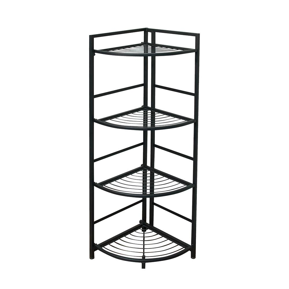 4-Shelf Corner 13 in. W x 45.5 in. H x 12