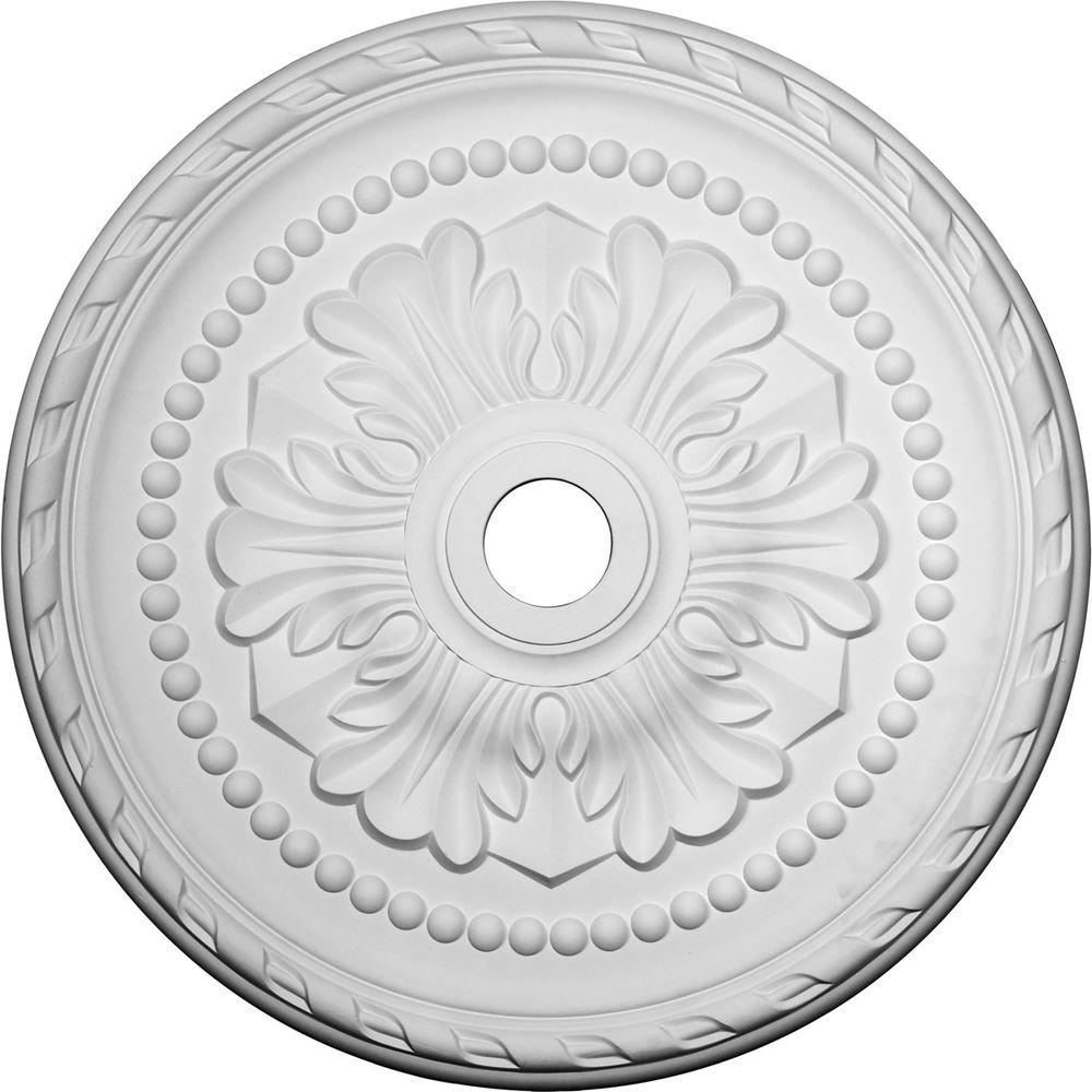 medallions ekena ceiling millwork home medallion in p the lariah