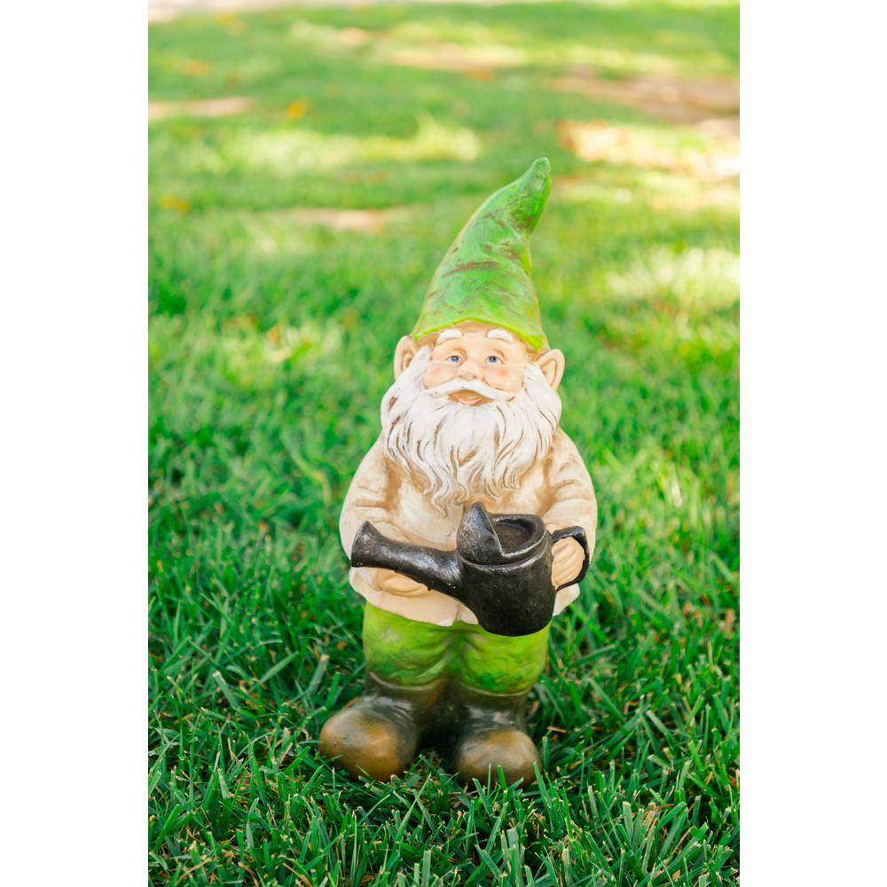 Alpine Gnome With Watering Can Statue