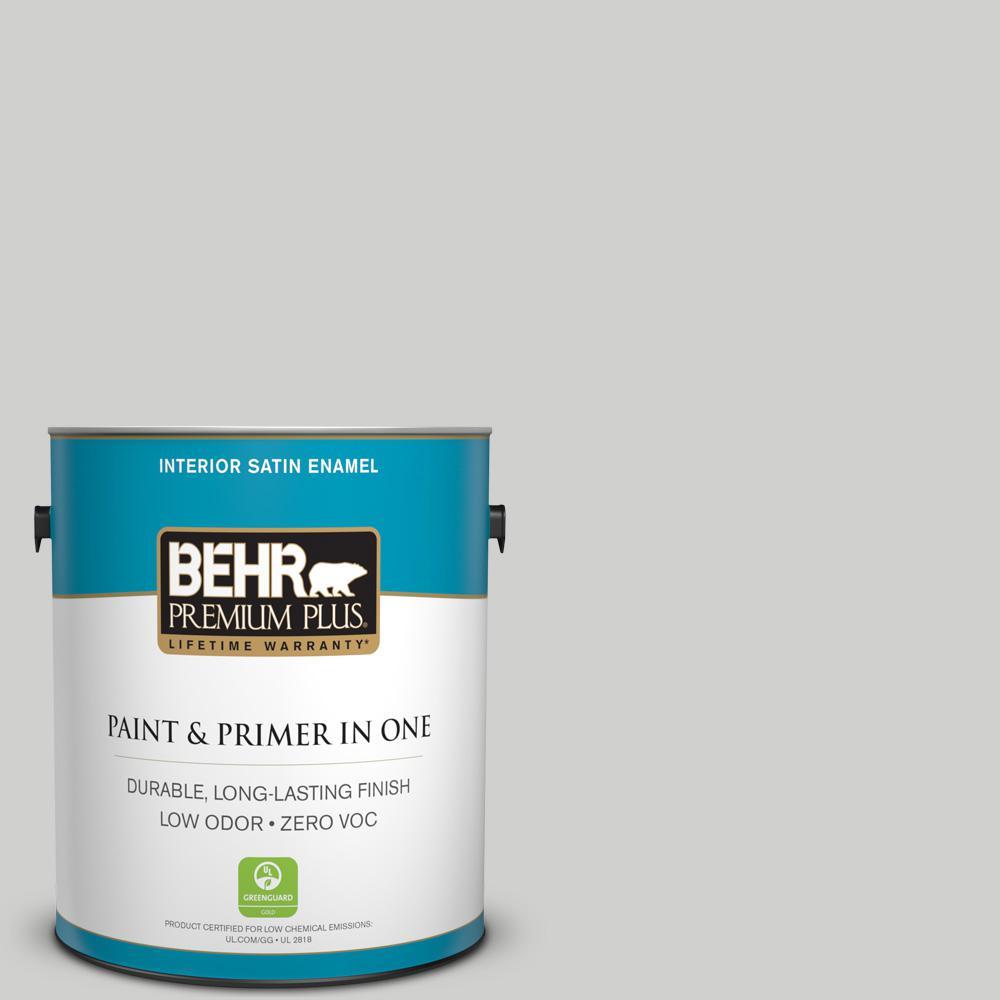 1 gal. #PPU26-15 Halation Satin Enamel Zero VOC Interior Paint and