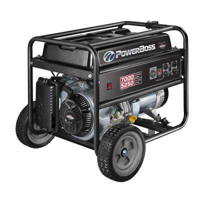 5,250-Watt Gasoline Powered Recoil Start Portable Generator with Briggs & Stratton Engine