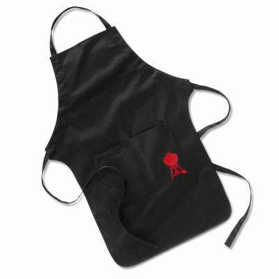 Black Barbecue Apron