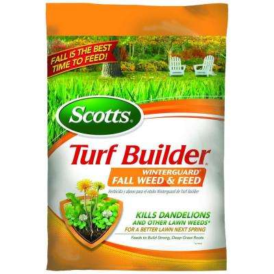 Turf Builder Winterguard 14 lb. 5,000 sq. ft. Lawn Fertilizer Plus Weed Control