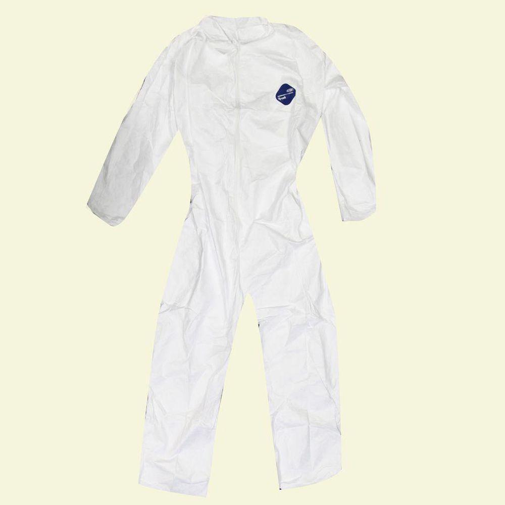 XL White No Elastic Coverall