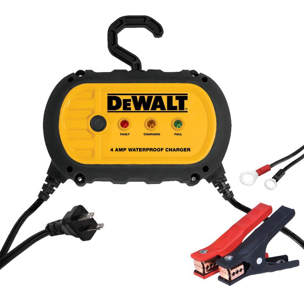 Dewalt 4 Amp Professional Waterproof Battery Charger by DEWALT