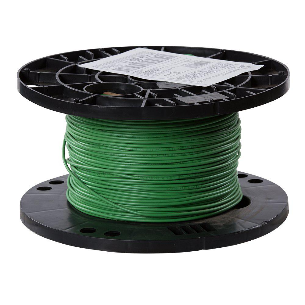 southwire 500 ft 14 green stranded cu xhhw wire 37096571 the home